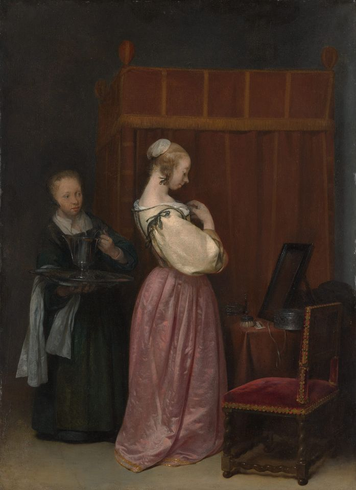 Vermeer And The Masters Of Genre Painting The Art Newspaper