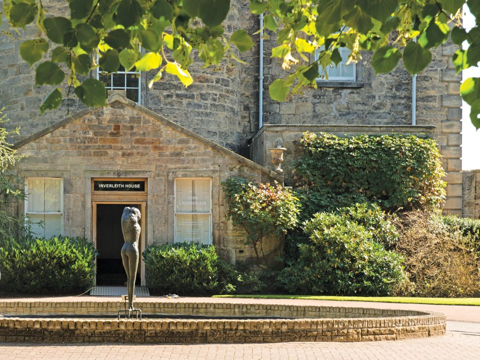 Inverleith House was the first home of the Scottish National Gallery of Modern Art