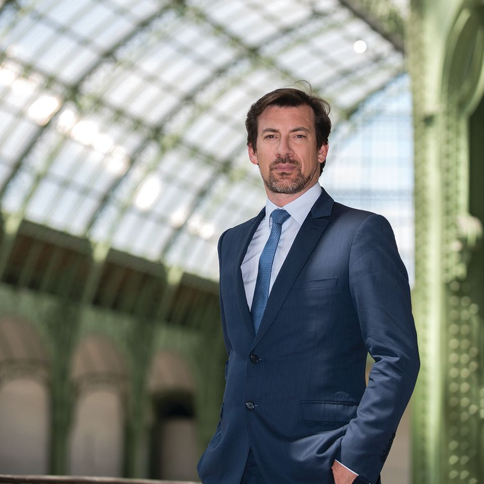 Mathias Ary Jan, the president of the Syndicat National des Antiquaires.