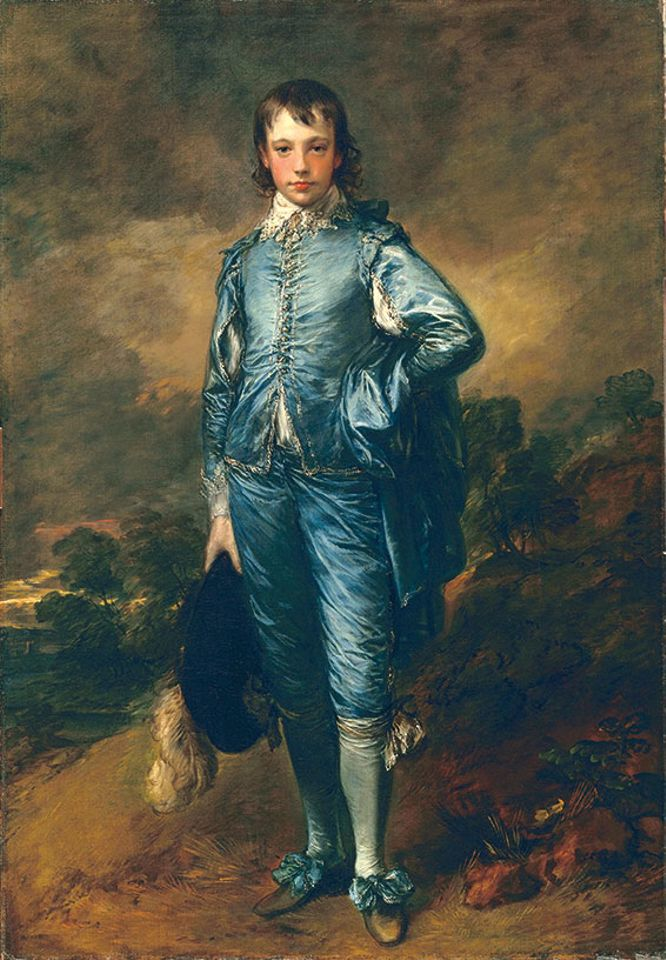 The Blue Boy (aournd 1770), Thomas Gainsborough