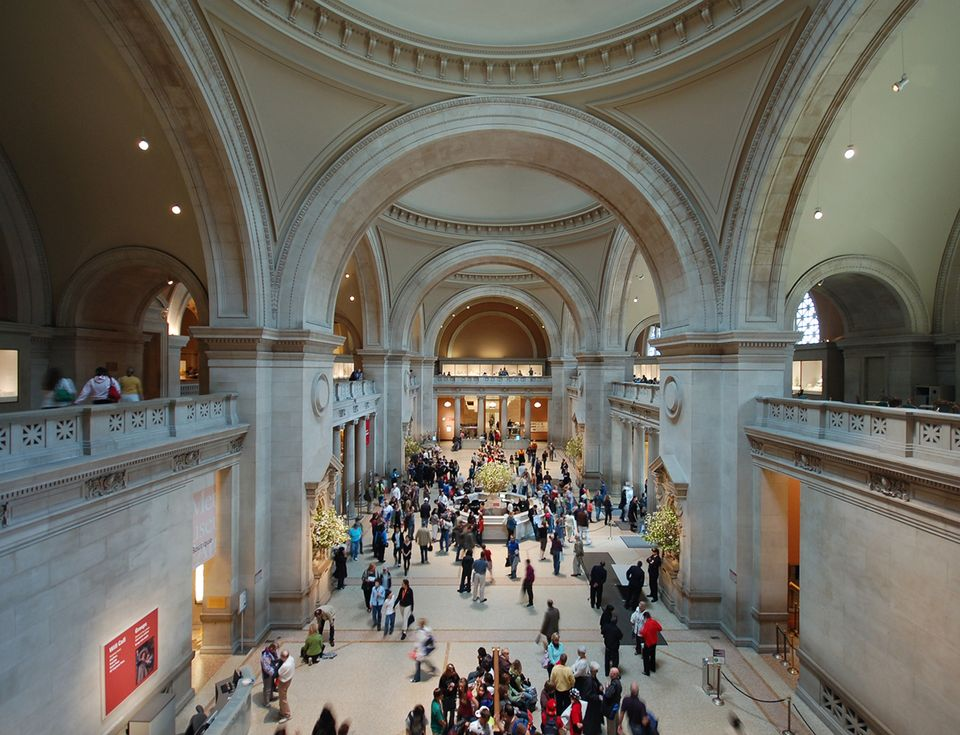 The Great Hall of the Metropolitan Museum of Art