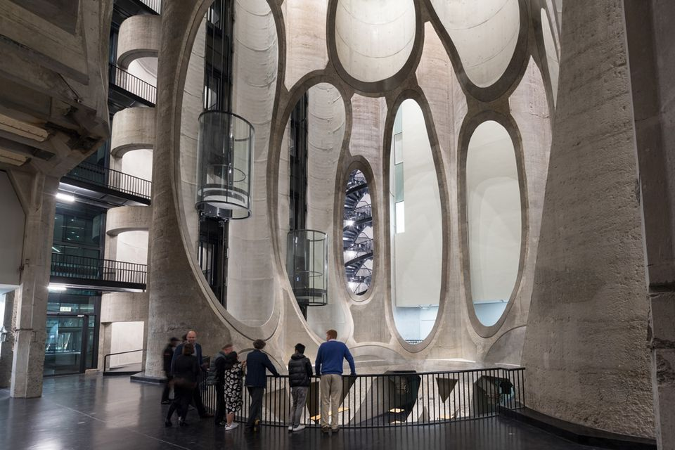 The Atrium of Zeitz MOCAA designed by Heatherwick Studio