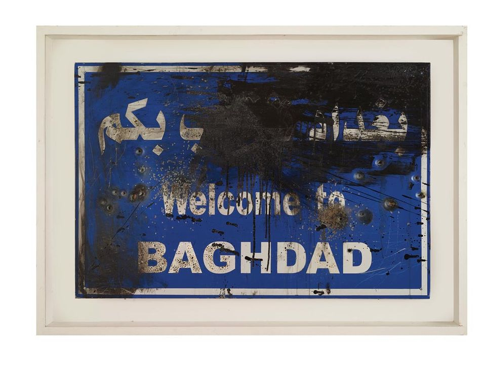 Untitled (2015) by the Iraqi artist Mahmoud Shubbar, from the Dalloul Art Foundation Collection