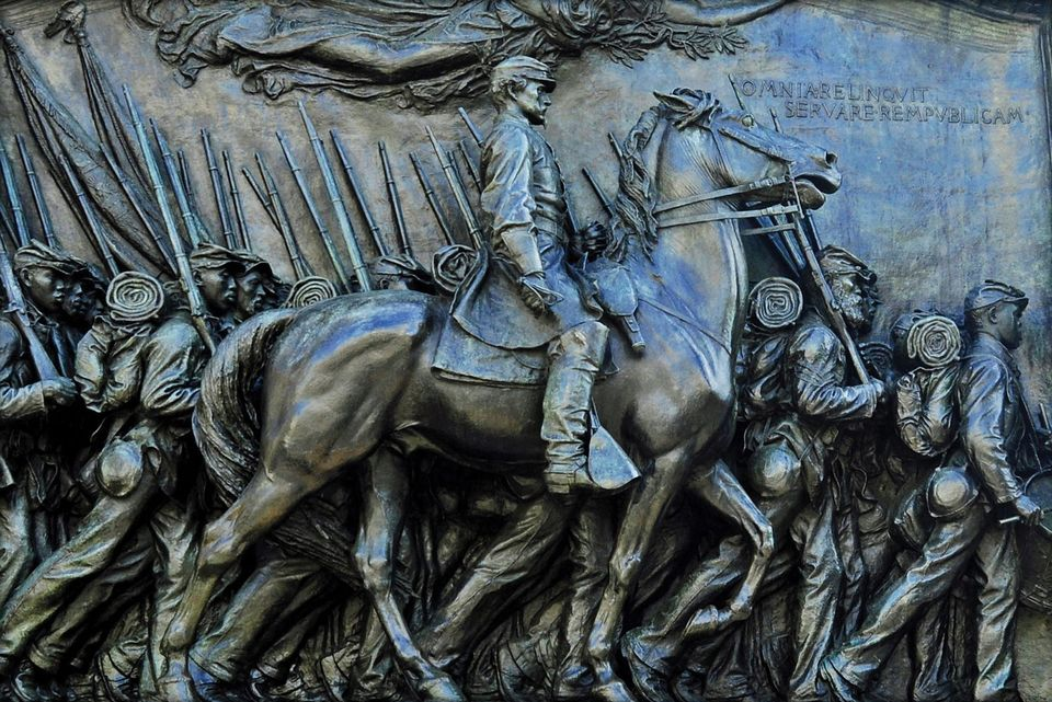 Robert Gould Shaw and 54th Regiment Memorial by Saint Gaudens Boston Massachusetts