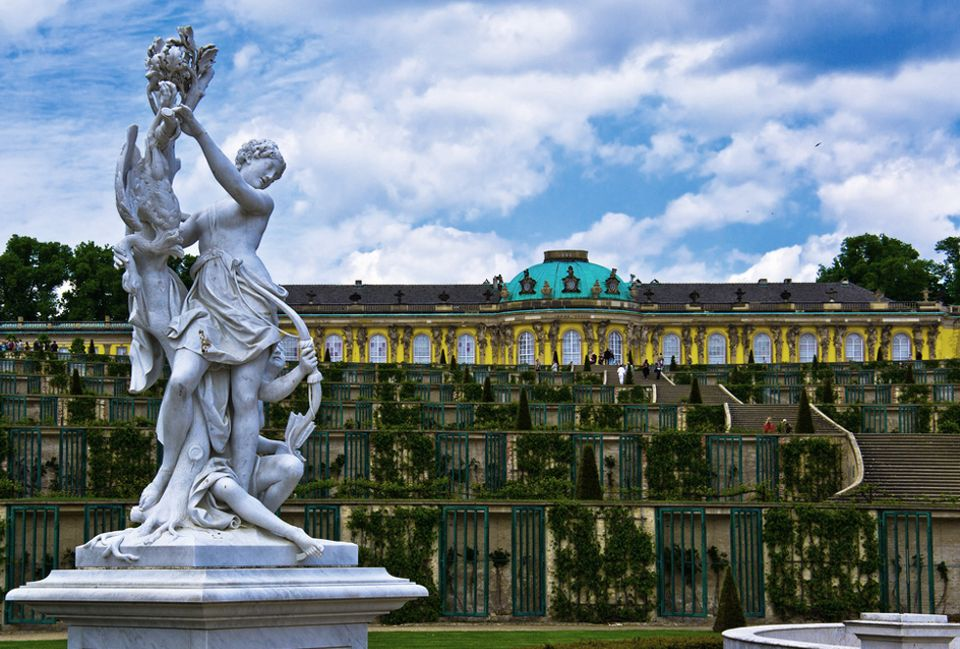 Frederick the Great's Sanssouci complex in Potsdam will be renovated