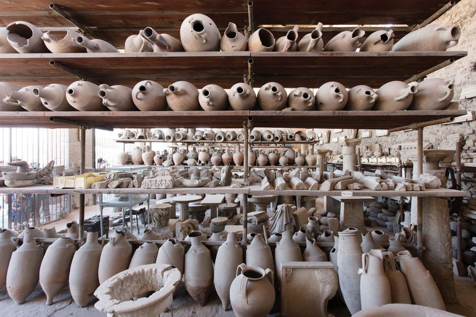 Pompeii is opening its vast archaeological stores to living artists