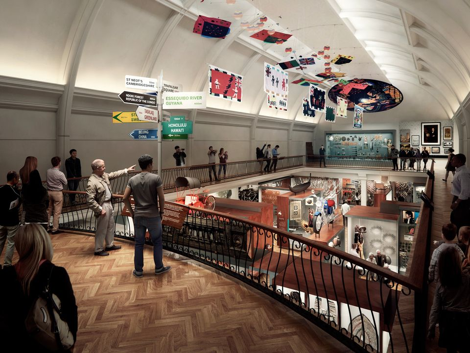How the World Gallery balcony will look