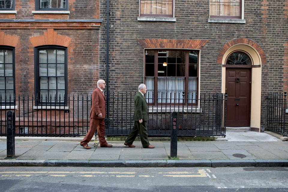 Gilbert & George moved into 12 Fournier Street in 1964