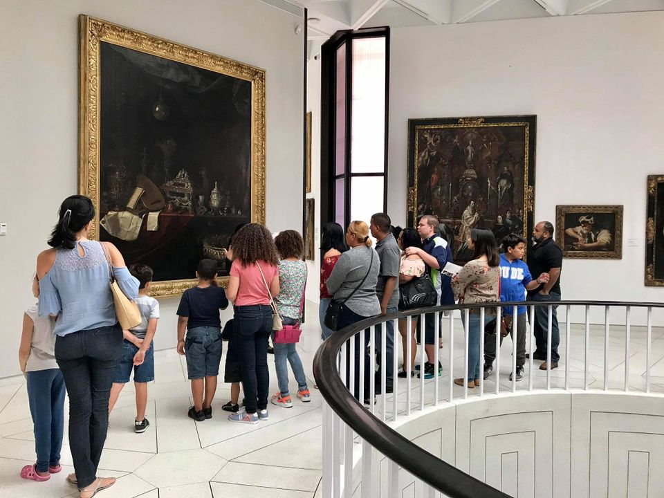 The Museo de Arte de Ponce reopened to the public and is providing free admission through 9 October
