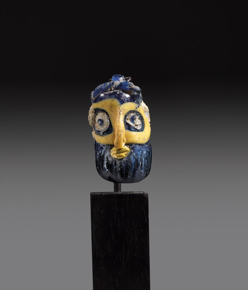 Phoenician glass head beads  (6th-5th century BC),  £1,500-£3,000, Rupert Wace, Frieze Masters