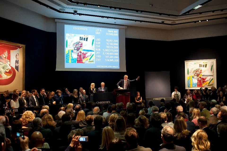 Christie's post-war and contemporary sale