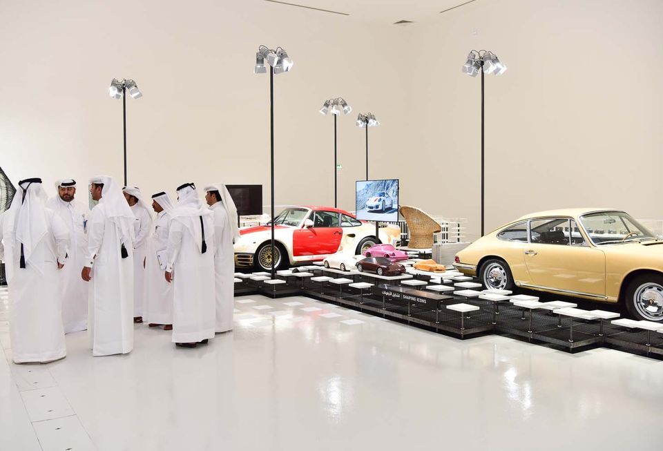 Opening of Driven by German Design at QM Gallery Al Riwaq