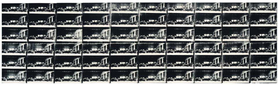 Andy Warhol's Sixty Last Suppers, 1986 (est $50 million)