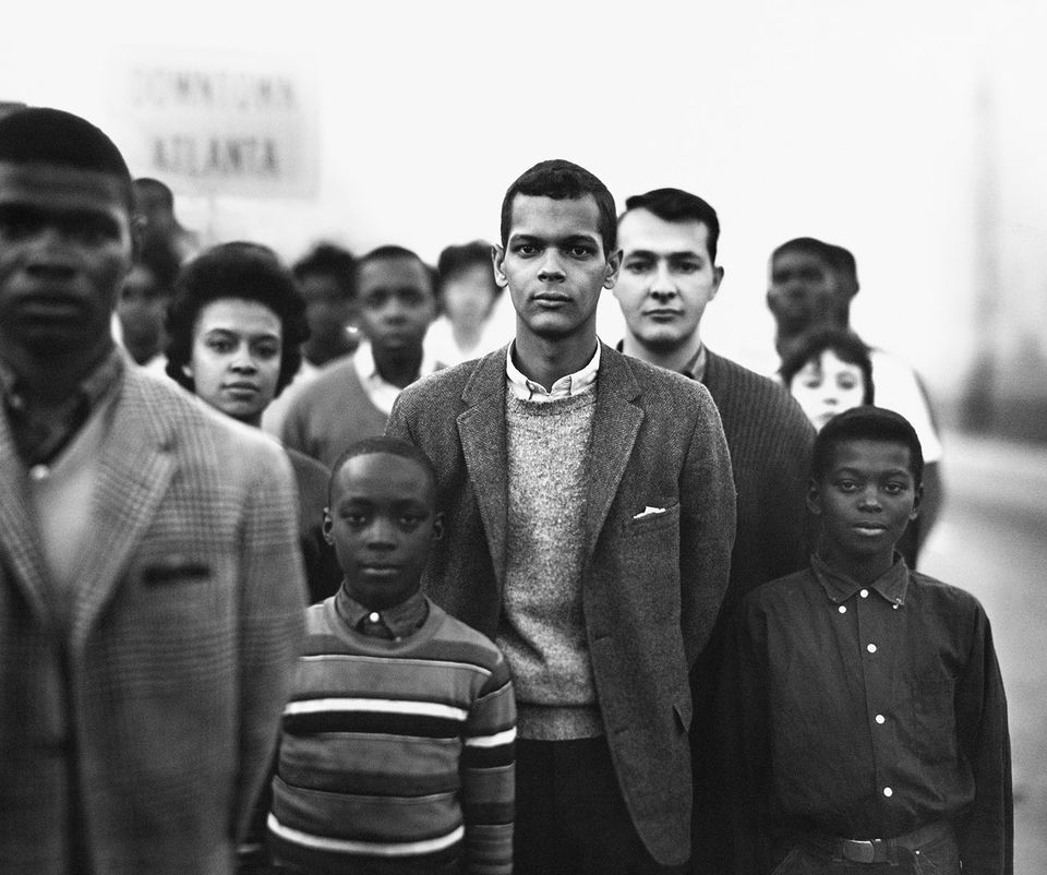 Members of the Student Nonviolent Coordinating Committee, March 1963