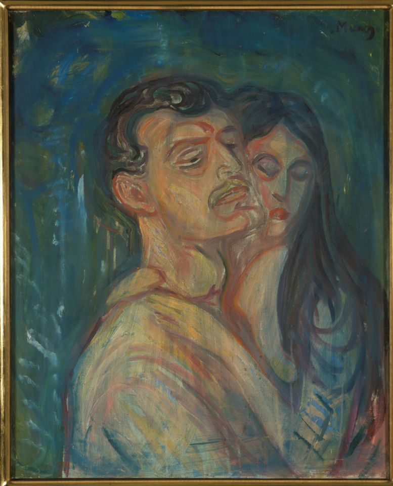 Edvard Munch's Hed-by-head (1905)