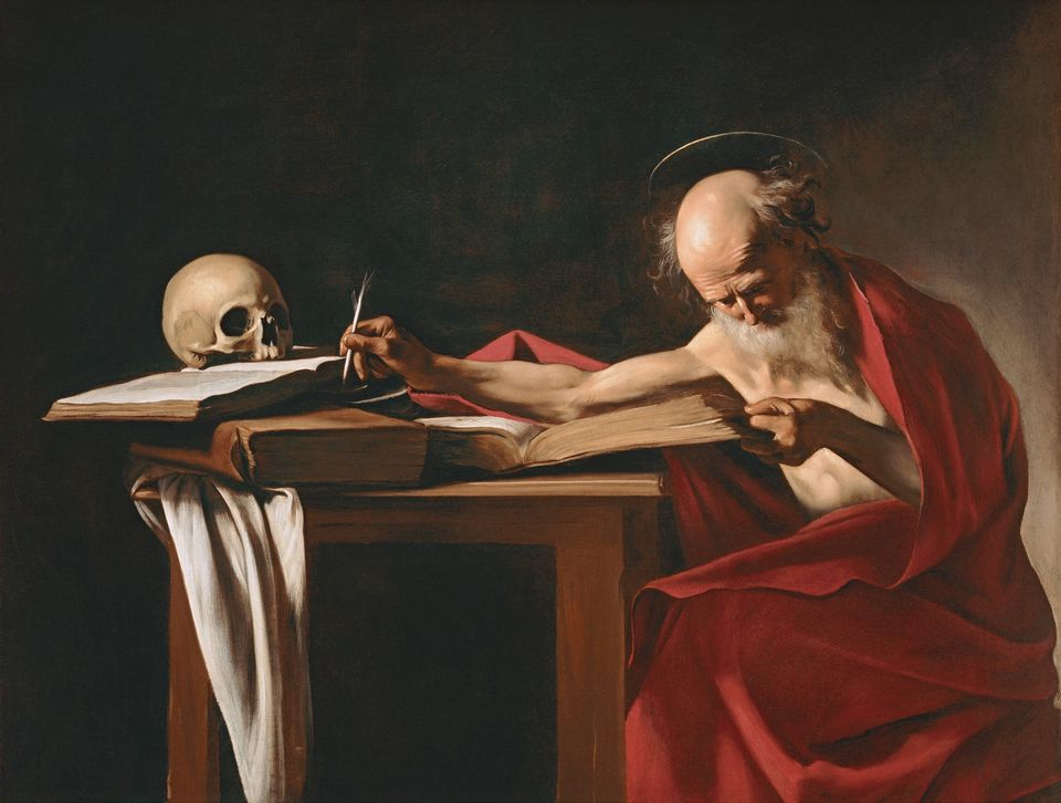 Saint Jerome (around 1605), one of three works by Caravaggio going on tour from the Galleria Borghese in Rome