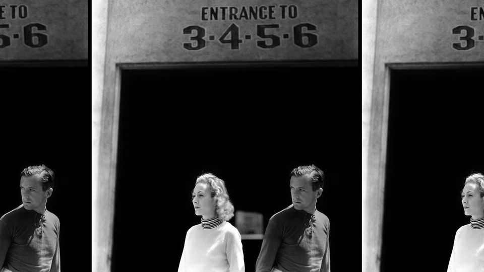 Cecil Beaton in Hollywood