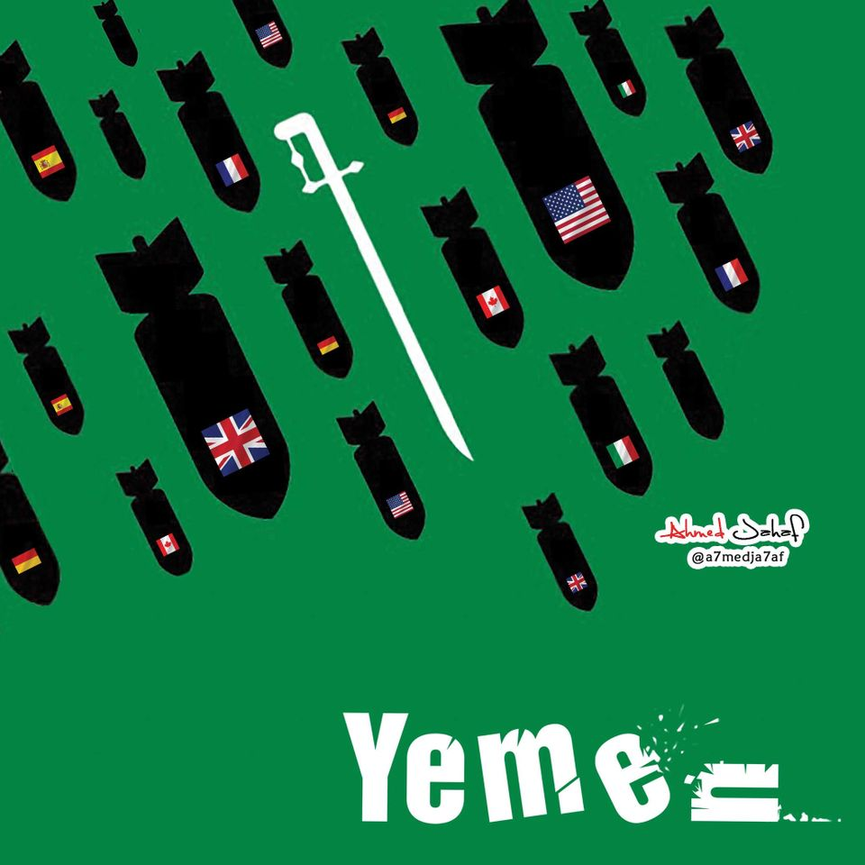 Ahmed Jahaf is drawing attention to Yemen's problems