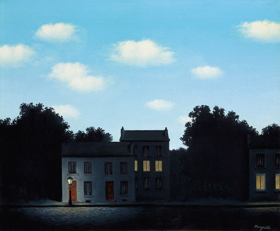 Rene Magritte, L'empire des lumières (1949), sold for $20.6m with fees
