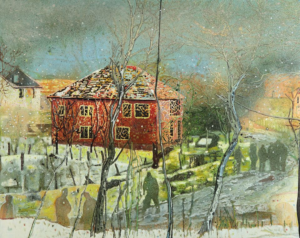 Peter Doig's Red House (1995-1996), sold for $21.1m with fees