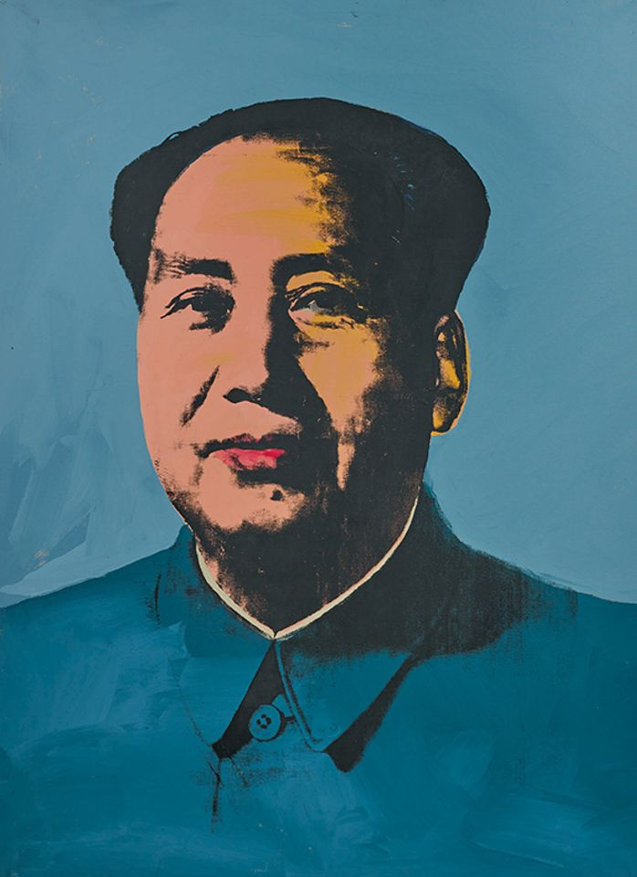 Andy Warhol's Mao (1972), sold for $34.2m with fees