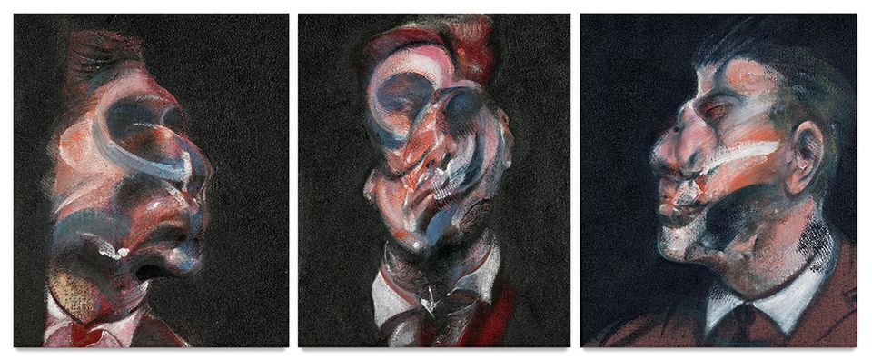 Francis Bacon's Three Studies Of George Dyer (1966), sold for $38.6m with fees