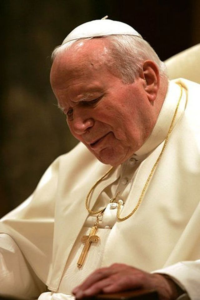 Pope John Paul II in 2004