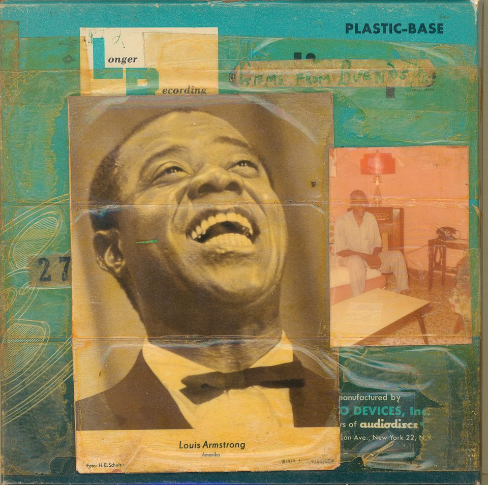 Louis Armstrong's collages will be shown outside New York for the first time