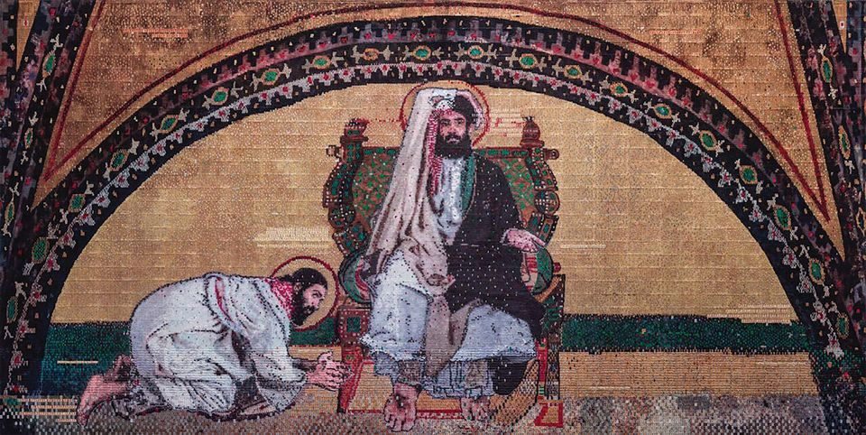 Abdulnasser Gharem's Prosperity Without Growth (2017) was later sold to a private collector
