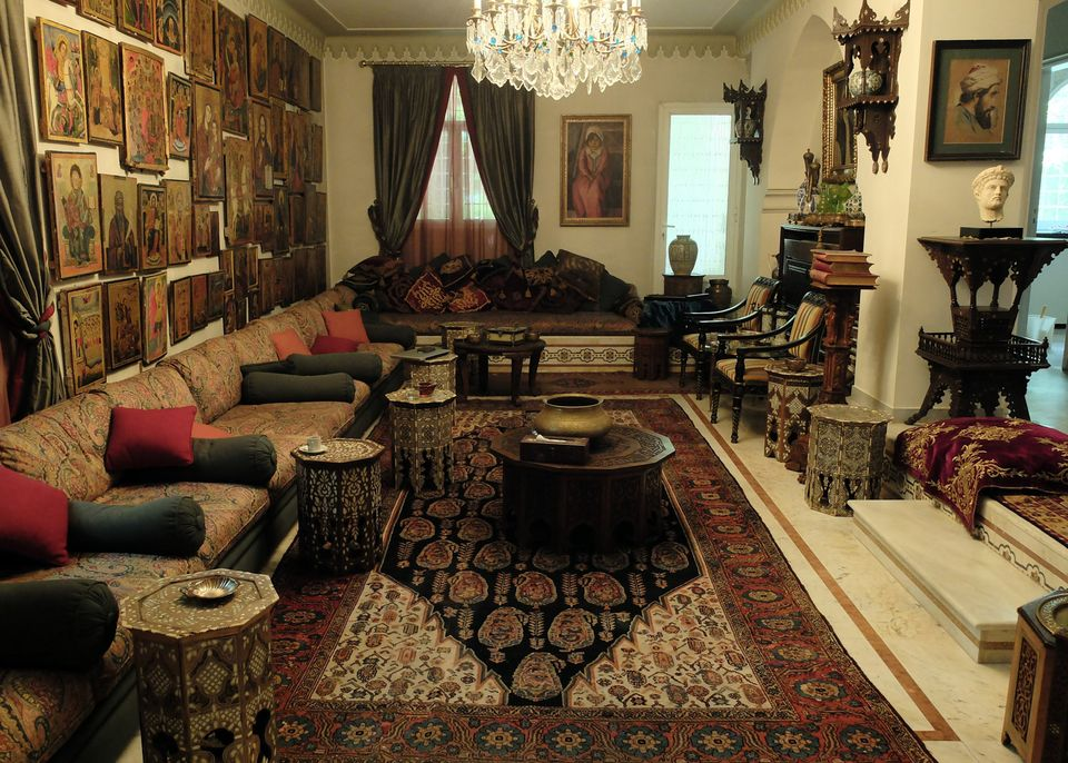 Lebanese businessman and collector Emile Hannouche has turned part of his family's mansion in the Bekaa Valley into a museum