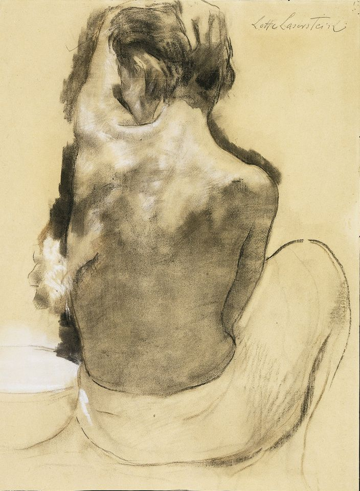 Lotte Laserstein, Rear view of nude with washbowl (around 1929) at Agnew's