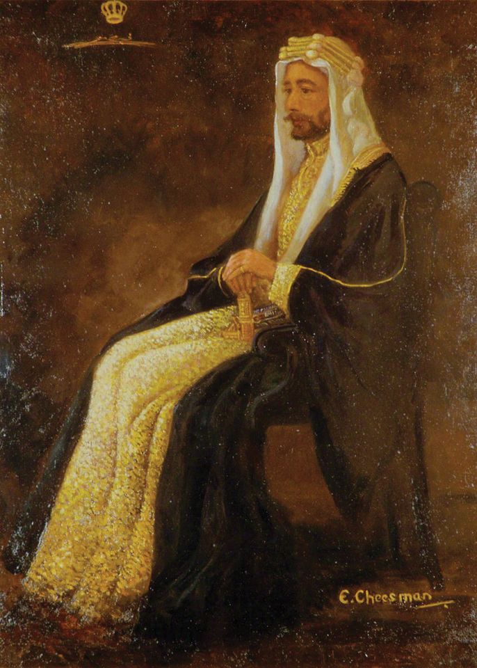 Florence Edith Cheesman's Faisal I, King of Iraq (1921)