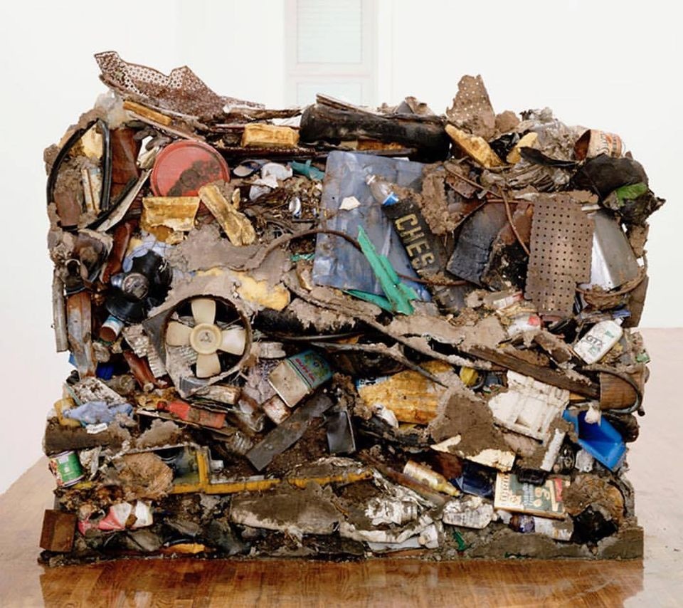 Gordon Matta-Clark's Garbage Wall (1970)