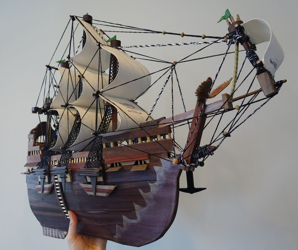 Moath al-Alwi, Model of a Ship (2015)
