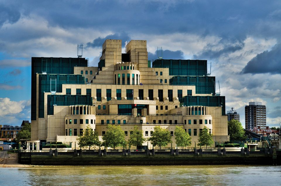 The headquarters of MI6, the British Secret Intelligence Service
