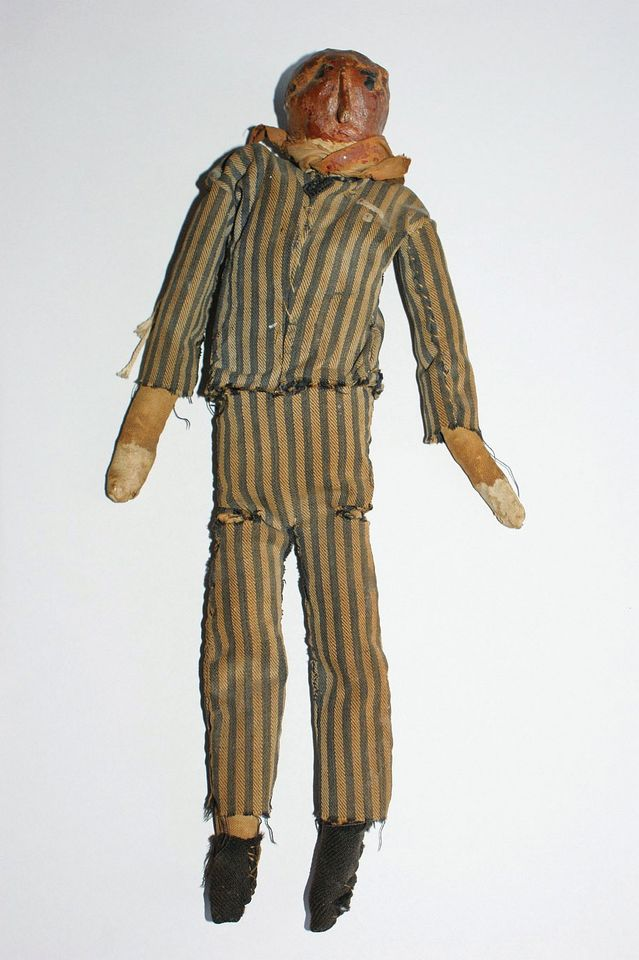 A puppet for a 1944 New Year cabaret staged in the Stutthof concentration camp near Gdansk