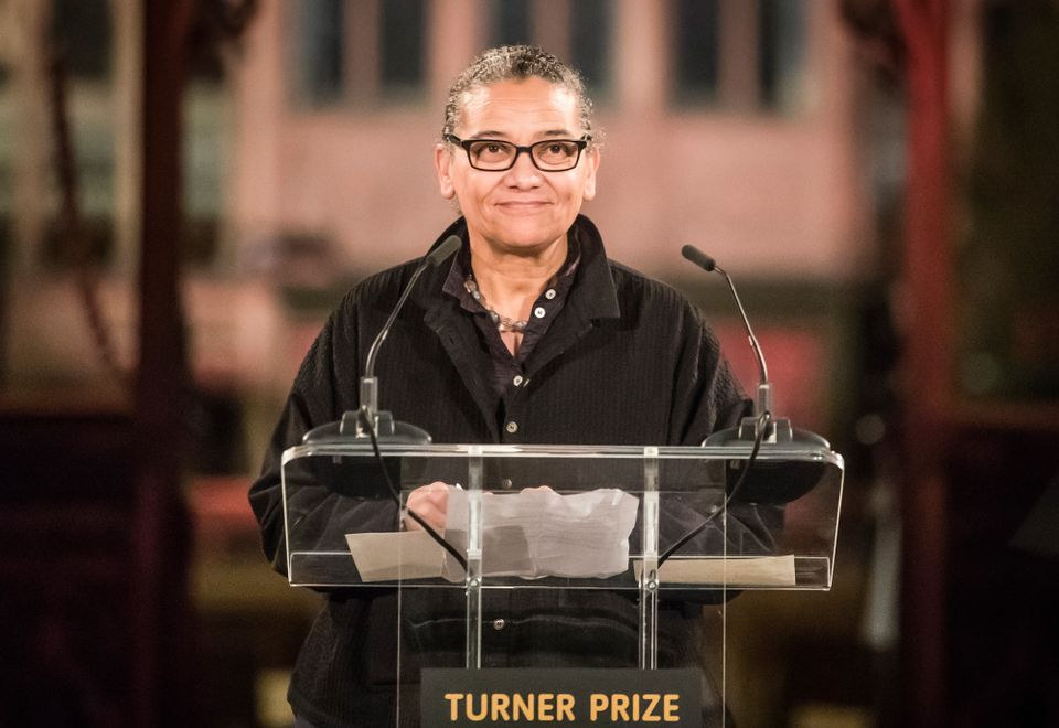 Lubaina Himid described her Turner Prize win as