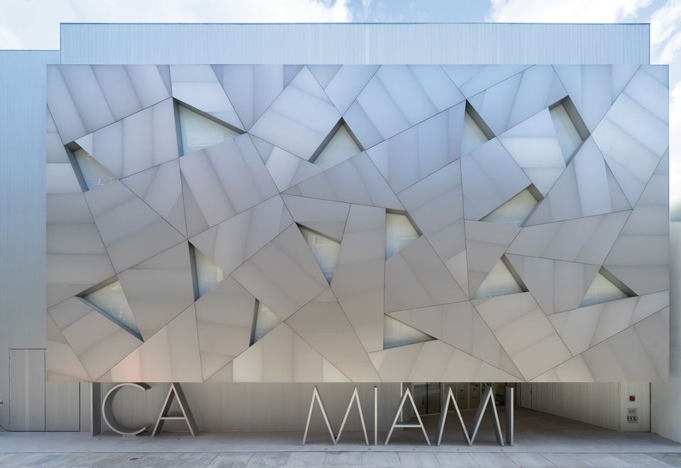 A new angle: the entrance to the ICA Miami, which opened on 1 December