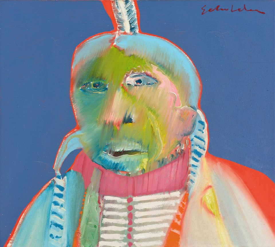 Fritz Scholder's Monster Indian (1968)
