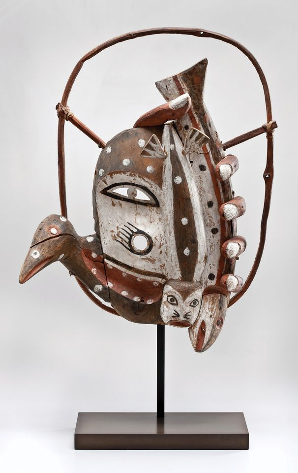 Unrecorded Yup'ik Artist, Dance Mask, ca. 1900