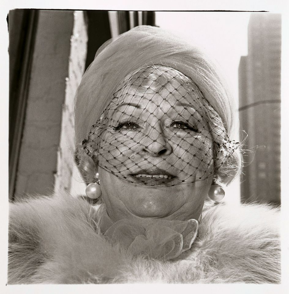 Diane Arbus, Woman with veil on Fifth Avenue, N.Y.C.