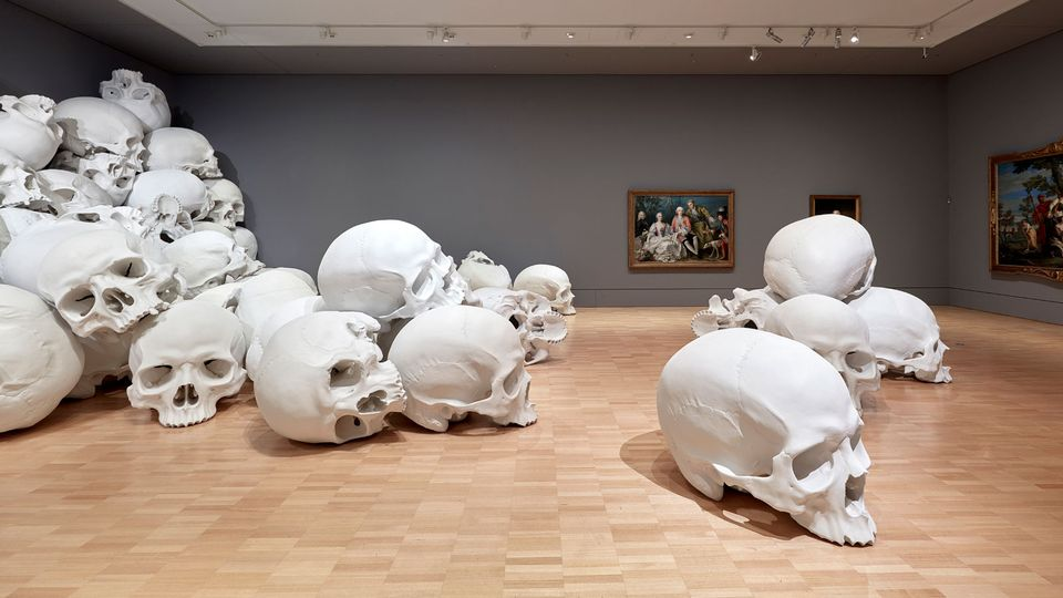 in pictures ron mueck s biggest ever installation the art newspaper