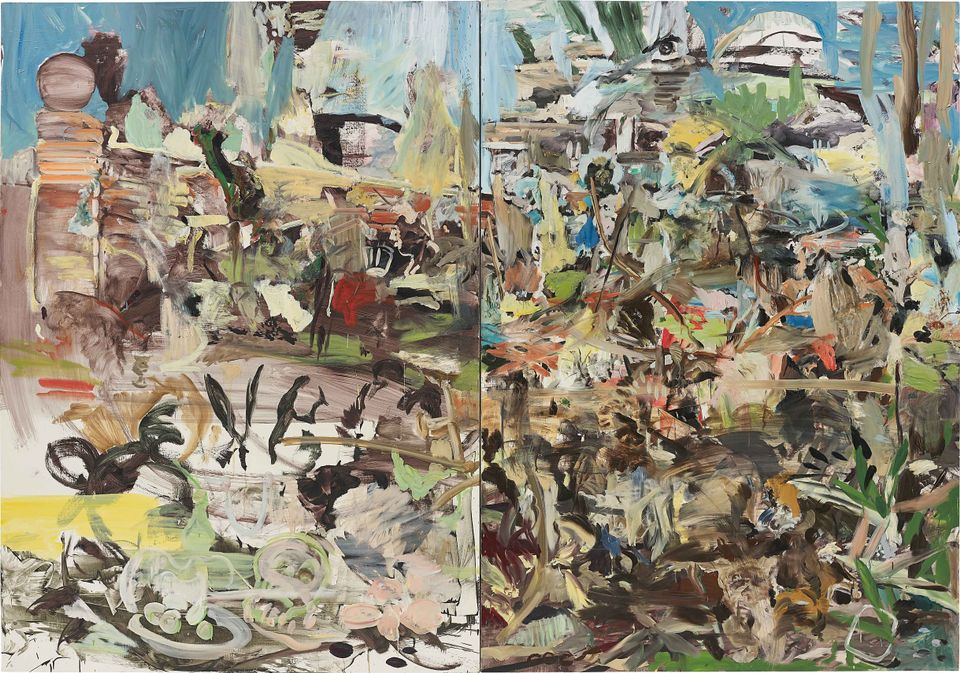 Park (2004) by Cecily Brown, the only work by a female artist to appear in the top 10 results across all London evening auctions during Frieze Week in October 2017. It made £849,000 at Phillips