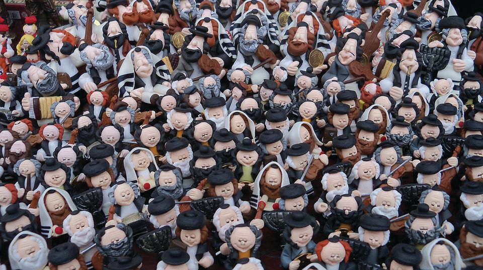 The statuettes, seen as good-luck charms, are sold to tourists across Poland