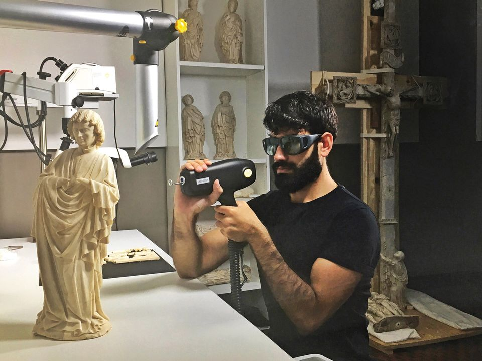 New laser technology can establish the origin and formation of the alabaster