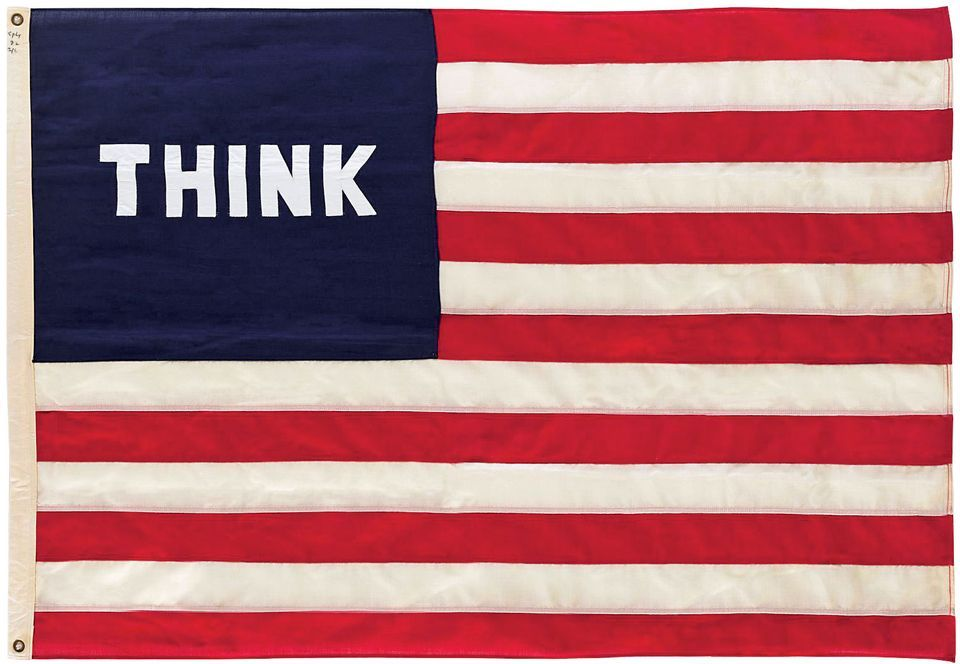 Against unreflecting patriotism: William Copley's Imaginary Flag for USA (1972)