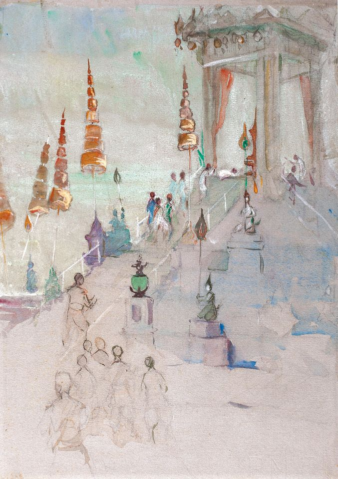 Hilda May Gordon's Cremation of King Rama IV of Siam (1924)