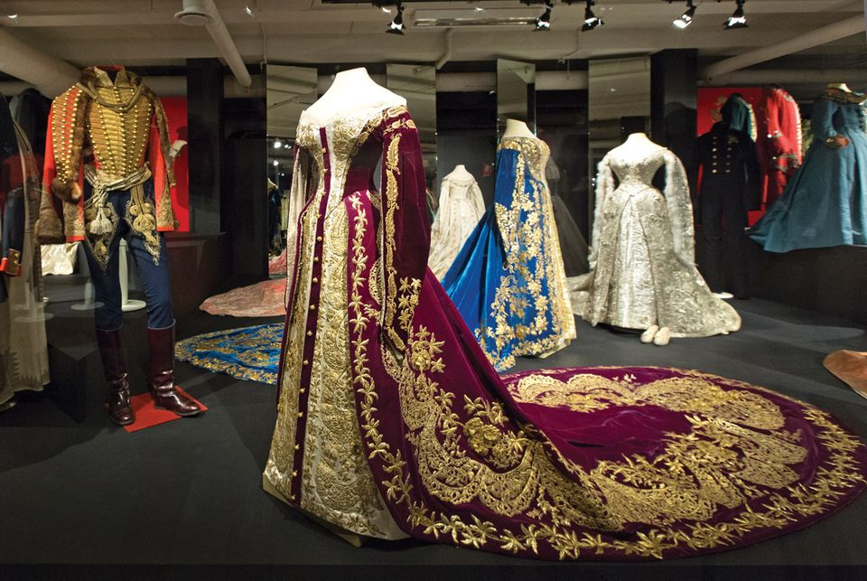Open storage facilities at the Hermitage's Staraya Derevnya will enable delicate garments to be regularly rotated