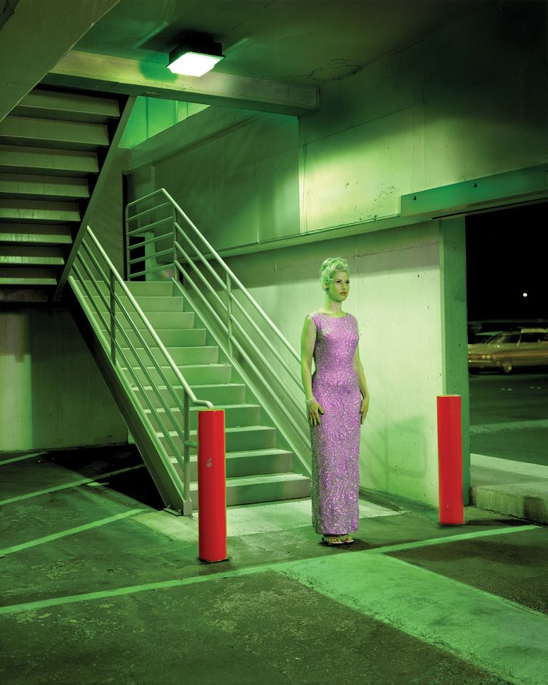 Albert Watson's Sara Camp, Parking Garage, Las Vegas (2001)