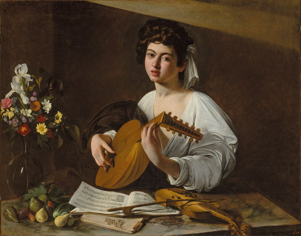 Restored to former glories: Caravaggio's The Lute Player (1595-96)